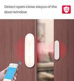 Slimme draadloze raam / deur sensor, geschikt voor smartphone applicatie, TUYA, SMARTLIFE en IFTTT_