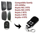 Somfy Handzender / afstandsbediening voor de Keytis NS 2 RTS en Keytis NS 4 RTS_8