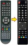 Q-media QLENM24A5 afstandsbediening_