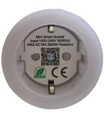 Smart plug - Set van 6 - Slimme stekker 16A - Google Home (Google Assistant) - met stroommeter_