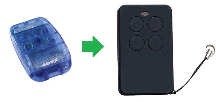ADYX TE4433H Blue handzender / afstandsbediening