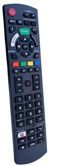 Afstandbediening geschikt voor alle Panasonic TV's