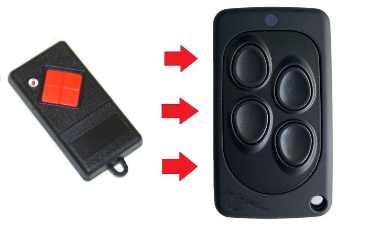 Dickert handsender / afstandsbediening voor de MAHS40-01 - MAHS40-4 - AHS40-01