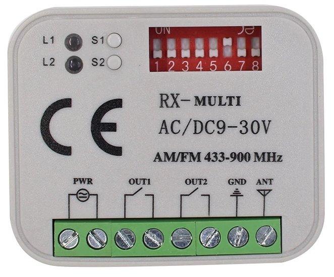 RX Multi ontvanger 433-868MHz