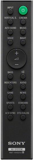 Sony RMT-AH501U afstandsbediening