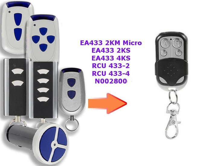 Normstahl RCU 433 2 K | RCU 433 4 K | RCU433-2 | RCU433-4 handzender / afstandsbediening