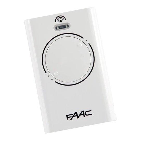 Faac XT2 868 SLH LR handzender ( wit)