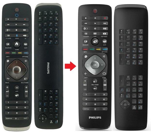 Philips 996590020724 afstandsbediening