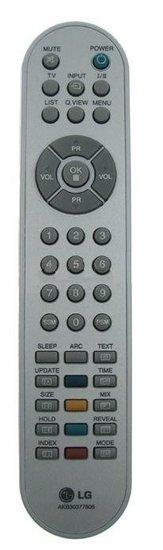 LG AKB30377806 afstandsbediening