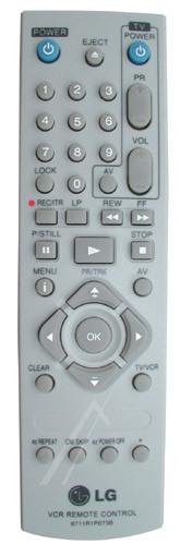 LG 6711R1P073B afstandsbediening