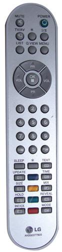 LG AKB30377804 afstandsbediening