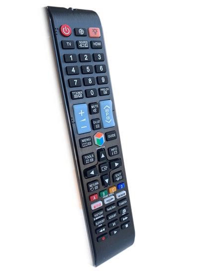 Alternatieve Samsung afstandsbediening met Netflix / Smarthub en Amazon toets