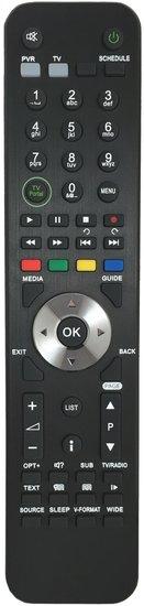 Alternatieve Humax IRHD-5550C afstandsbediening