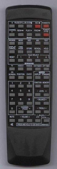 JVC RC668 afstandsbediening
