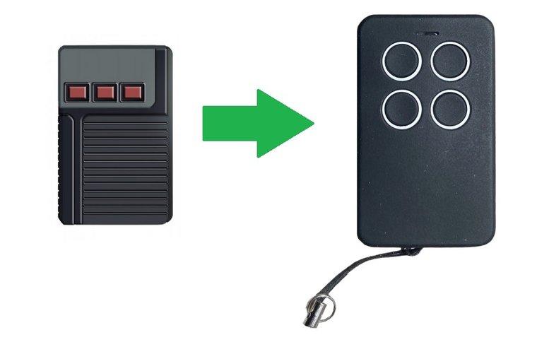 Aeterna TX433 3 knoppen (alternatieve handzender)