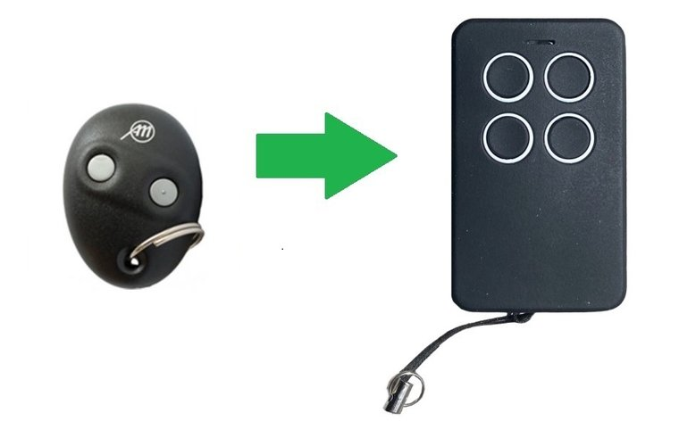 Allmatic Minipass (alternatieve handzender)