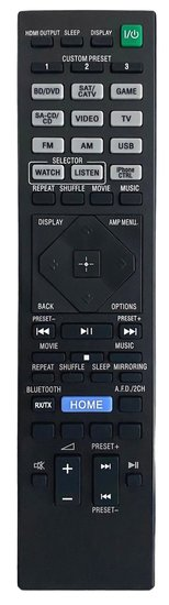 Alternatieve Sony RM-AAU190 afstandsbediening