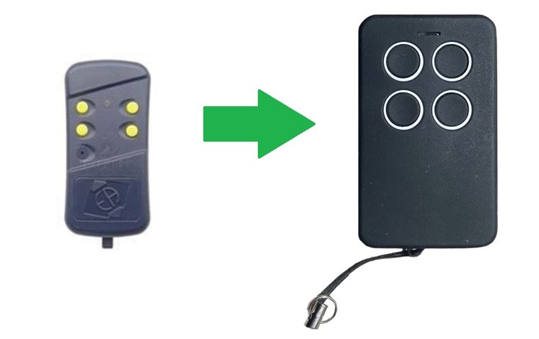 Allmatic Pass (alternatieve handzender)