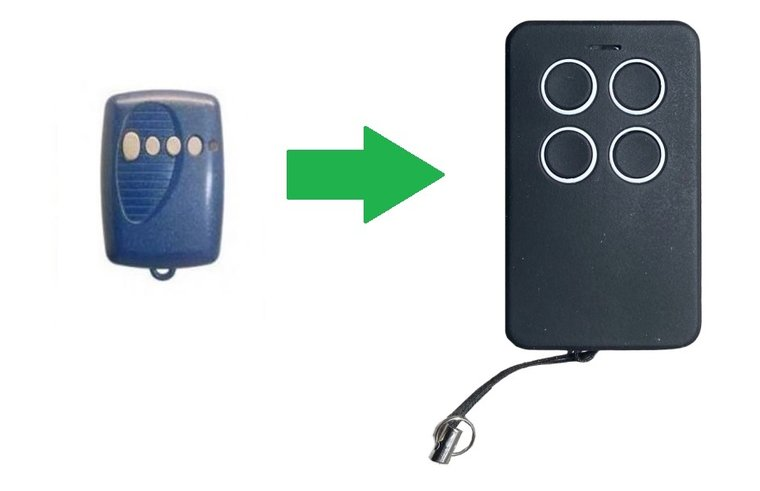 Aperto CPS4 (alternatieve handzender)