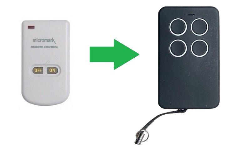 Avidsen 100601 micromark MM23164 (alternatieve handzender)