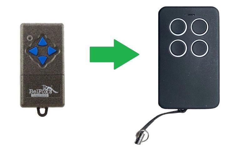Belfox DHS 7733 (868Mhz) (alternatieve handzender)