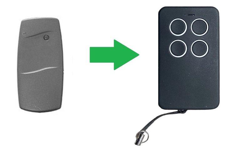 Berner SKX1HD met 1 knop (alternatieve handzender)