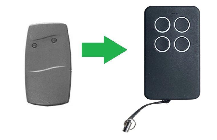 Berner SKX2HD met 2 knoppen (alternatieve handzender)