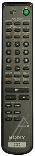 Sony RM-DX300 afstandsbediening