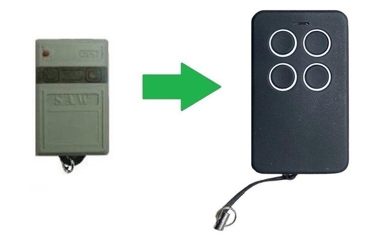 Celinsa S10 met 1 knop (alternatieve handzender)
