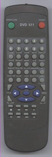 Lenco DVD511 afstandsbediening
