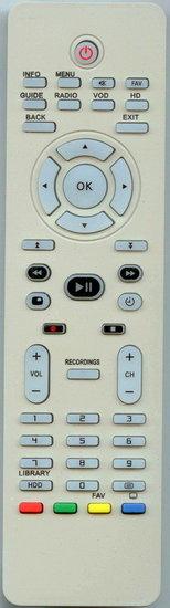 Philips DSR8122 afstandsbediening