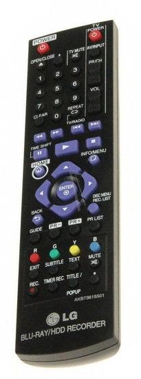 LG AKB73615501 afstandsbediening