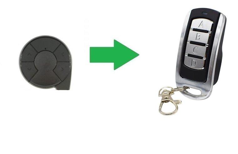 Clemsa E-Code N (alternatieve handzender)