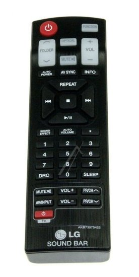 LG AKB73575422 afstandsbediening