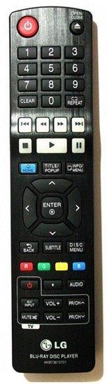 LG AKB73615701 afstandsbediening