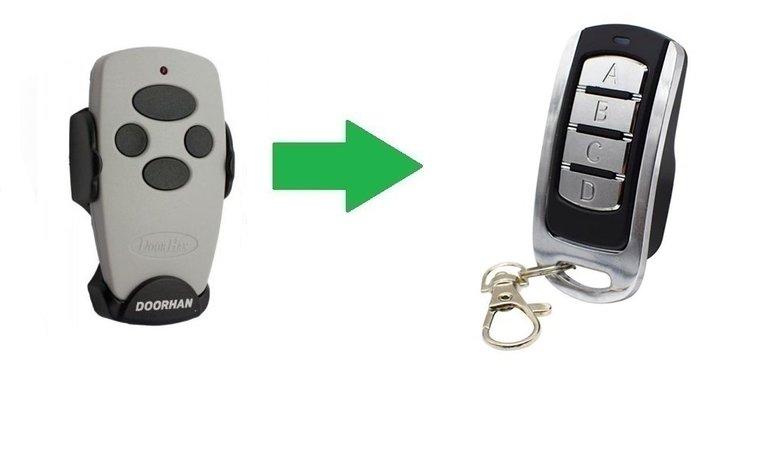 Doorhan Transmitter 4 (alternatieve handzender)