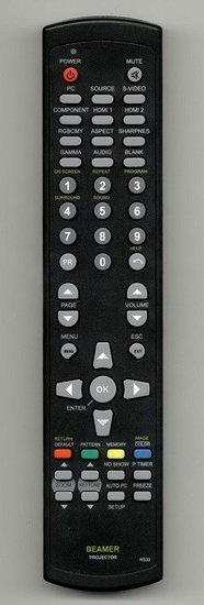 Optoma EX-610 afstandsbediening