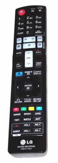 LG AKB73115301 afstandsbediening