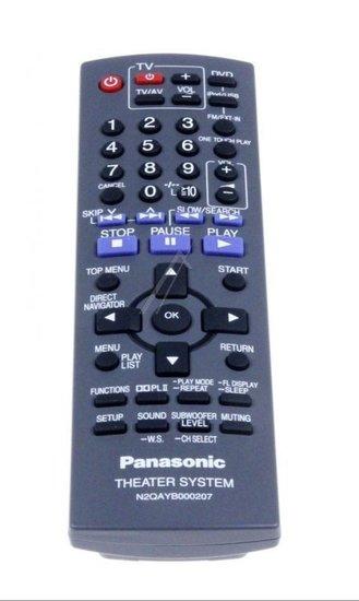 Panasonic N2QAYB000207 afstandsbediening
