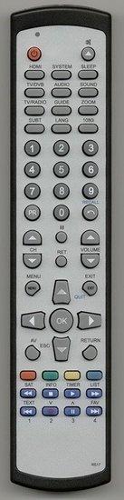 Telefunken TF100HD afstandsbediening