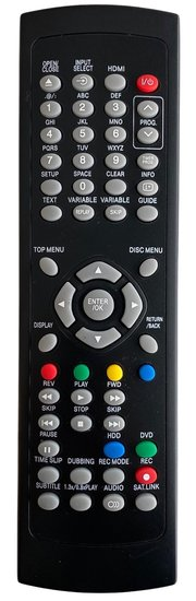Alternatieve Toshiba SE-R0309 afstandsbediening