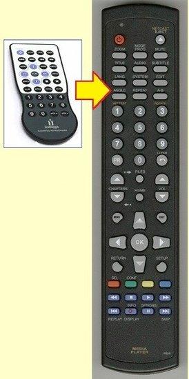 IOMEGA SPMCAHD afstandsbediening