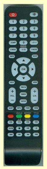 Telefunken LED2260 afstandsbedieningen