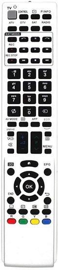 Alternatieve Sharp RRMCGB075WJSA afstandsbediening
