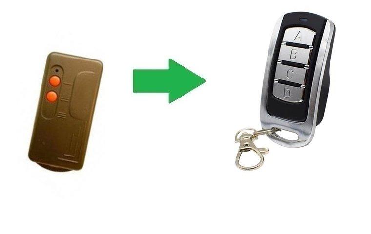 MA system TX2 (alternatieve handzender)