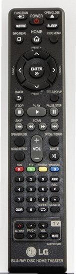 LG AKB73775803 afstandsbediening