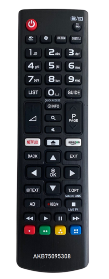 Alternatieve LG AKB75095308 afstandsbediening