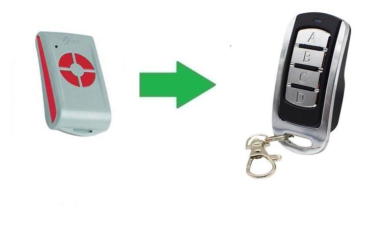O&O T.COM R8-2 (alternatieve handzender)