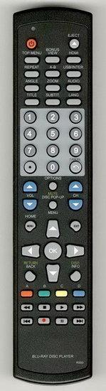 Philips BDP5110F7D afstandsbediening ALTERNATIEF