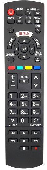 Alternatieve Panasonic N2QAYA000213 afstandsbediening